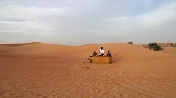A desert bar